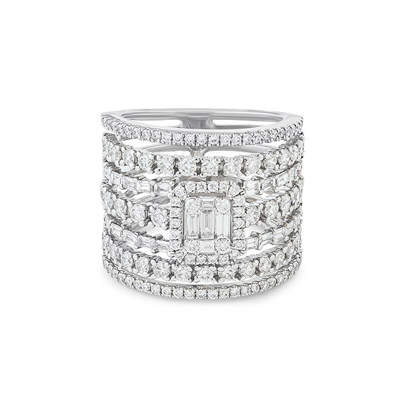 Bague Kate 7 anneaux